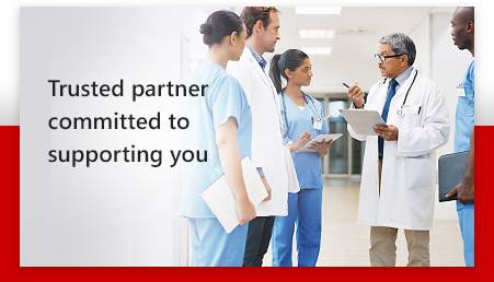 Trusted partner committed to supporting you