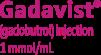 Gadavist® (gadabutrol)injection 1mmol/ml
