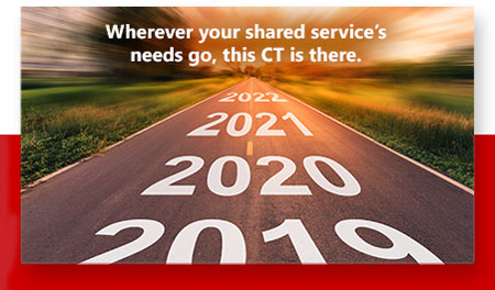 Wherever your shared service's needs go, this CT is there.