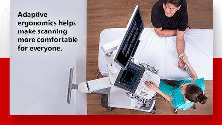 Adaptive ergonomics make scanning more comfortable for everyone.