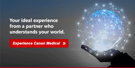 Your ideal experience from a partner who understands your world. Experience Canon Medical.