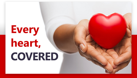 Every heart, COVERED