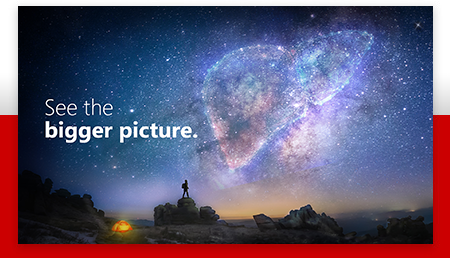 See the bigger picture.