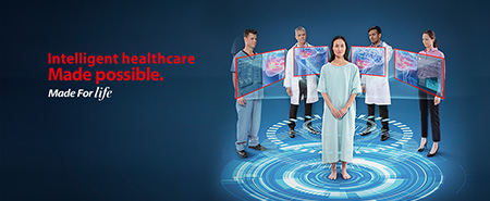 Intelligent healthcare Made possible. - Made for Life