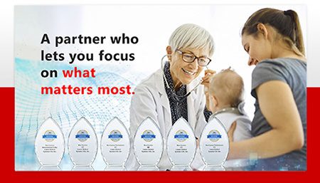 A partnrer who lets you focus on what matters the most.