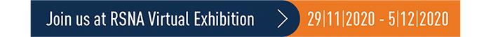 Join us at RSNA Virtual Exhibition | 29-11-2020 - 5-12-2020